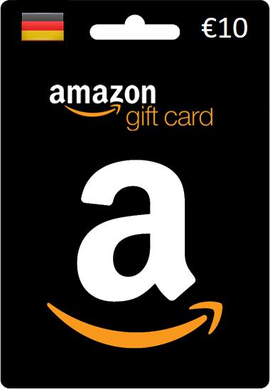 €10 Amazon Gift Card (DE)