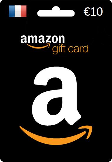 €10 Amazon Gift Card (FR)