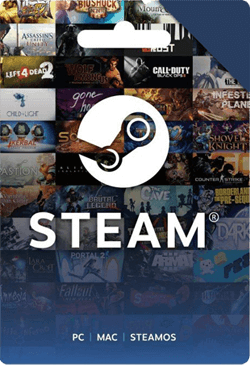 $5.33 Steam Gift Card (Global)